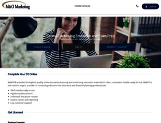 mandomarketing.webce.com screenshot