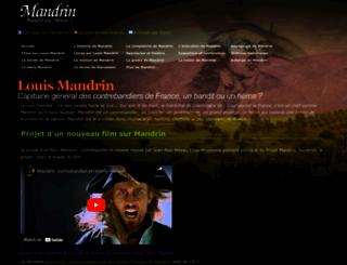 mandrin.org screenshot