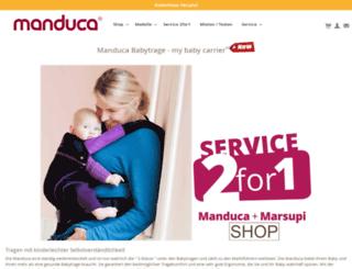 manducababytrage.de screenshot
