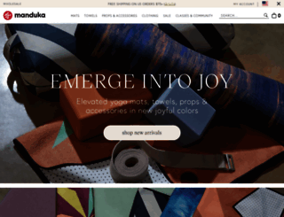 manduka.com screenshot