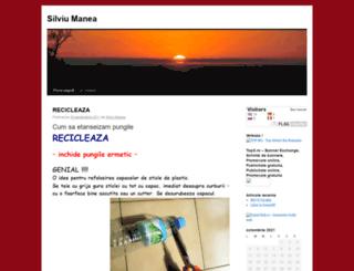 maneasilviu.wordpress.com screenshot