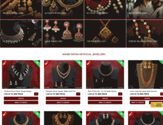 manekratna.com screenshot