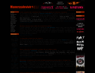 manerasdevivir.com screenshot