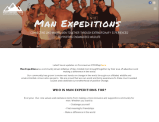 manexpeditions.com screenshot
