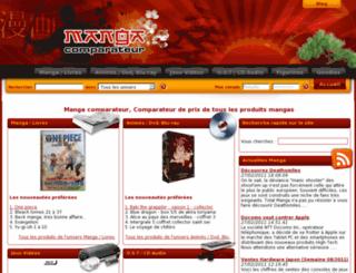 manga-comparateur.com screenshot
