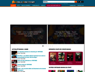 manga-sanctuary.com screenshot
