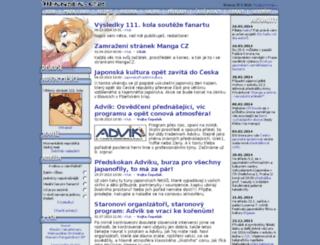 manga.cz screenshot