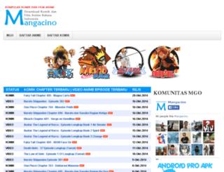 mangacino.blogspot.com screenshot