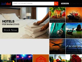 mangalore.justdial.com screenshot