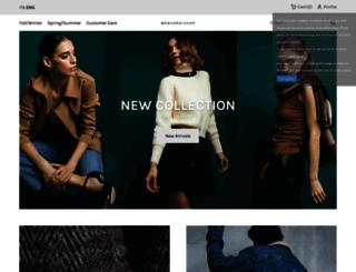 mangano.com screenshot
