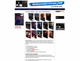 mangashakespeare.com screenshot