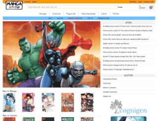 mangashop.ro screenshot