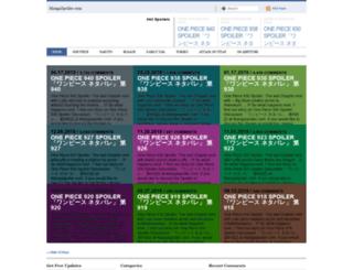 mangaspoiler.com screenshot