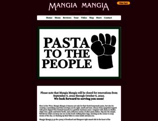 mangia-mangia.com screenshot