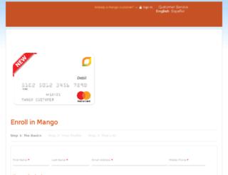 mango.prepaidchp.com screenshot