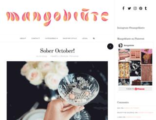 mangobluete.com screenshot