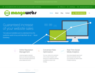 mangowebs.com screenshot