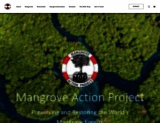 mangroveactionproject.org screenshot