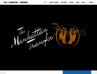 manhattantransfer.net screenshot