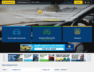 manheim.co.nz screenshot