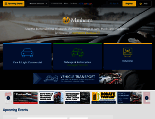manheim.com.au screenshot