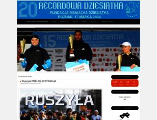 maniacka.kbmaniac.pl screenshot