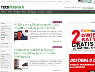 maniak.pl screenshot