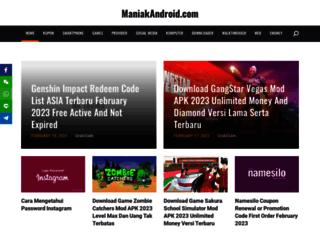 maniakandroid.com screenshot