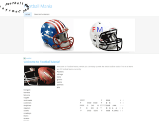 manialeague.weebly.com screenshot