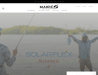 manictackleproject.com screenshot