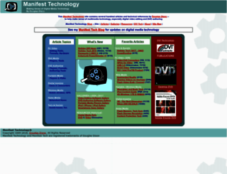 manifest-tech.com screenshot