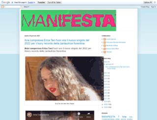 manifesta7.blogspot.it screenshot