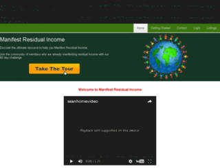 manifestresidualincome.com screenshot