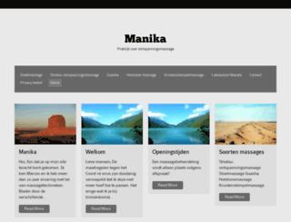 manika.nl screenshot