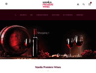 manila-premiere-wines.com screenshot