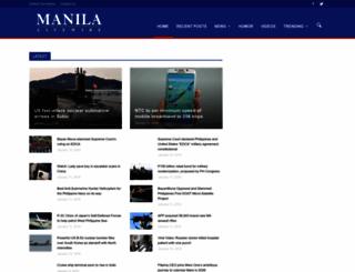 manilalivewire.com screenshot