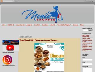 manilashopper.com screenshot