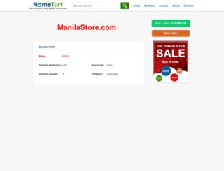 manilastore.com screenshot
