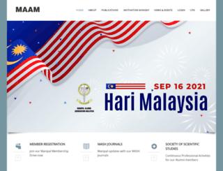 manipal.org.my screenshot