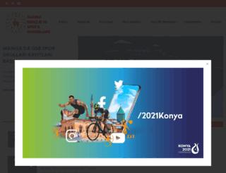 manisa.gsb.gov.tr screenshot