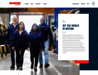 manitou-group.com screenshot