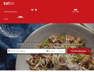 mankato.eat24hours.com screenshot