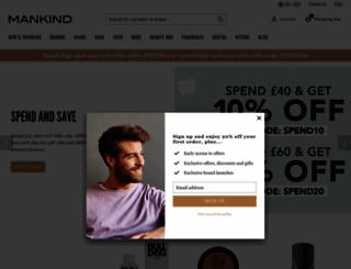 mankind.co.uk screenshot