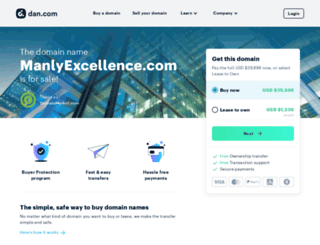 manlyexcellence.com screenshot