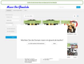 mann-im-glueck.de screenshot