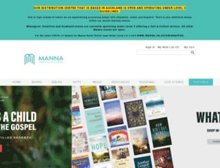 manna.co.nz screenshot