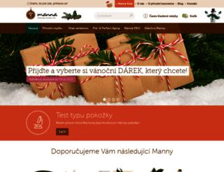 mannamydlo.cz screenshot