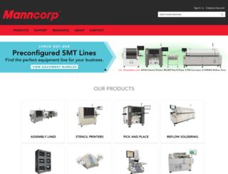 manncorp.com screenshot
