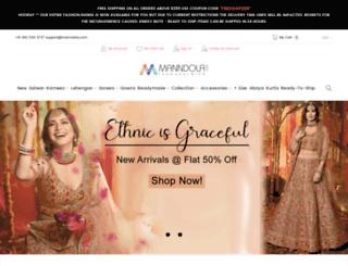 manndola.com screenshot