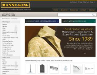 manne-king.com screenshot